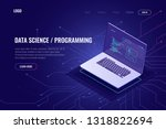 programming and software... | Shutterstock .eps vector #1318822694