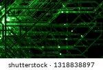 3d render digital background... | Shutterstock . vector #1318838897