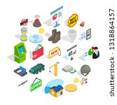positive feedback icons set.... | Shutterstock .eps vector #1318864157