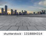 panoramic skyline and buildings ... | Shutterstock . vector #1318884314