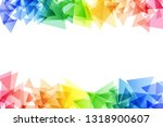 rainbow abstract background...   Shutterstock .eps vector #1318900607