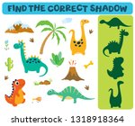 find the correct shadow ... | Shutterstock .eps vector #1318918364