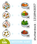 matching education game for... | Shutterstock .eps vector #1318943057