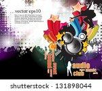 dance party | Shutterstock .eps vector #131898044