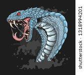 King Cobra Head Vector
