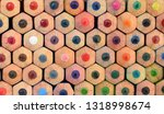 crayons sites closed up... | Shutterstock . vector #1318998674
