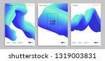 set of trendy abstract design... | Shutterstock .eps vector #1319003831