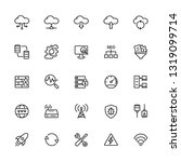 data and network icons set.... | Shutterstock .eps vector #1319099714