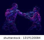 vector illustration. two...   Shutterstock .eps vector #1319120084