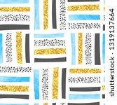 vector seamless abstract... | Shutterstock .eps vector #1319137664