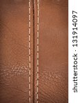 closeup view of leather...   Shutterstock . vector #131914097