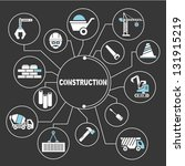 construction mapping | Shutterstock .eps vector #131915219