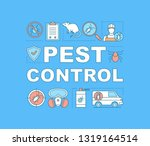 pest control word concepts...