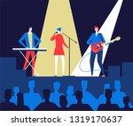 music festival   flat design...   Shutterstock .eps vector #1319170637