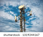 3g  4g and 5g cellular. base... | Shutterstock . vector #1319244167