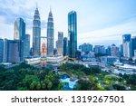 beautiful architecture building ... | Shutterstock . vector #1319267501
