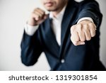 business fighting to success... | Shutterstock . vector #1319301854