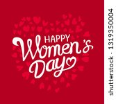 international women's day.... | Shutterstock .eps vector #1319350004