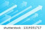 financial arrow graphs | Shutterstock .eps vector #1319351717