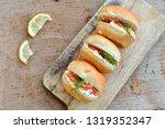 Mini Salmon Burgers And Spiced...