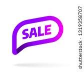 sale banner template design... | Shutterstock .eps vector #1319358707