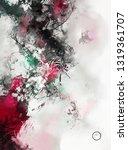 modern art. colorful...   Shutterstock . vector #1319361707