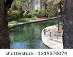 riverwalk in san antonio  texas ... | Shutterstock . vector #1319370074