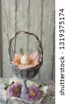 easter decoration for home ... | Shutterstock . vector #1319375174