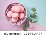pink delicious homemade... | Shutterstock . vector #1319414477