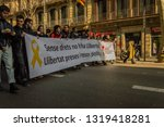 barcelona  catalonia spain ... | Shutterstock . vector #1319418281