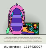travel icon symbol vector... | Shutterstock .eps vector #1319420027