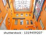 the courtyard between valnu and ... | Shutterstock . vector #1319459207