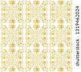 golden ornamental pattern.... | Shutterstock .eps vector #1319462024