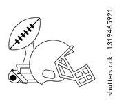 american football sport game...   Shutterstock .eps vector #1319465921