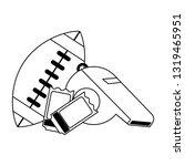 american football sport game...   Shutterstock .eps vector #1319465951