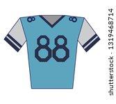 american football tshirt wear...   Shutterstock .eps vector #1319468714