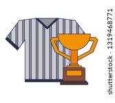 baseball tshirt sport wear with ...   Shutterstock .eps vector #1319468771