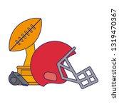 american football sport game...   Shutterstock .eps vector #1319470367