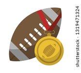 american football sport game   Shutterstock .eps vector #1319471324