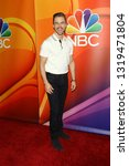 Small photo of LOS ANGELES - FEB 20: Derek Hough at the NBC's Los Angeles Mid-Season Press Junket at the NBC Universal Lot on February 20, 2019 in Universal City, CA