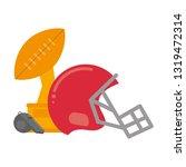 american football sport game   Shutterstock .eps vector #1319472314