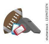 american football sport game   Shutterstock .eps vector #1319472374