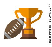 american football sport game   Shutterstock .eps vector #1319472377