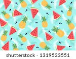 classic tropical background... | Shutterstock .eps vector #1319523551