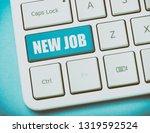 new job key   business concept...   Shutterstock . vector #1319592524