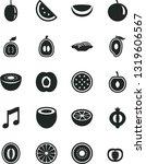 solid black vector icon set  ... | Shutterstock .eps vector #1319606567