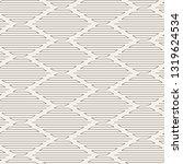 vector seamless pattern. modern ... | Shutterstock .eps vector #1319624534