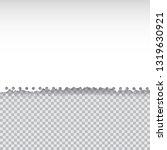 vector illustration white torn... | Shutterstock .eps vector #1319630921