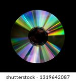 close up cd. colorful light... | Shutterstock . vector #1319642087
