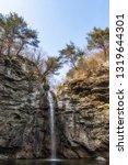 sinbulsan falls national... | Shutterstock . vector #1319644301